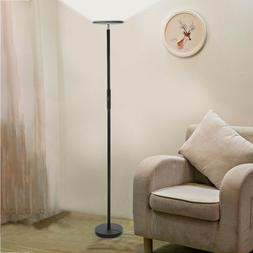 Dimmable LED Floor Lamps Tall Standing Modern Pole Light Wit