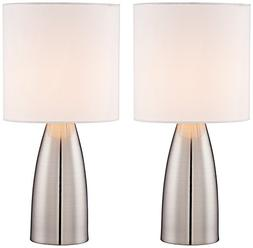 Aron Metal Touch Lamp Set of 2