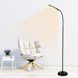 Touch & Remote Dimmable 3000K-6000K Floor Lamps Adjustable L
