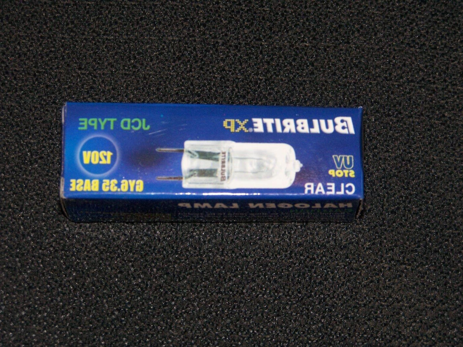 20W Clear Halogen Line Voltage GY6 Bulb