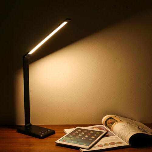 Dimmable Lamp Touch Charging Port Brightness Levels