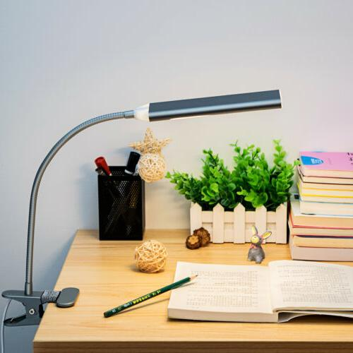 5W 48LED Desk Lamp Dimmable Table Gray