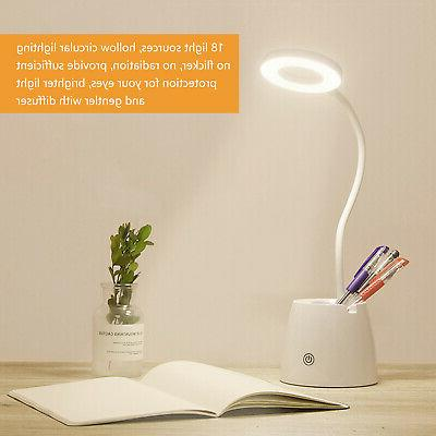 LED Dimmable Color Modes Desk Lamp Table Reading