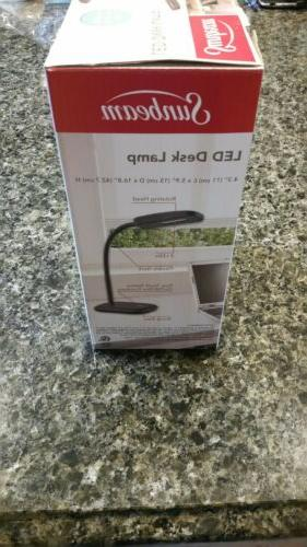 NEW IN BOX - Black LED LAMP with NECK Fast Shipping USA
