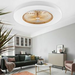 Marca Dragon Ceiling Fan LED Lamp Remote Control Living Room