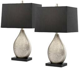 marco table lamp with black shade set